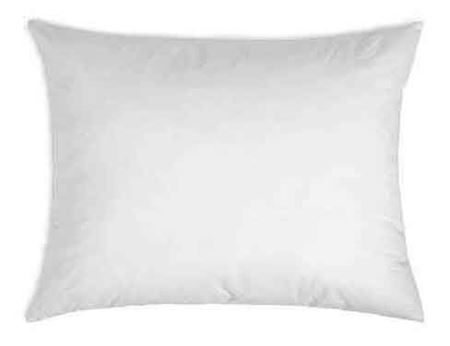14 x 26 pillow form rectangular 100 all cotton cover with premium polyester filling