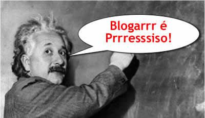 Blogar é preciso