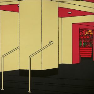 Patrick Caulfield, Foyer, 1973 Collection David Bowie © The estate of Patrick Caulfield.  All Rights Reserved, DACS 2013