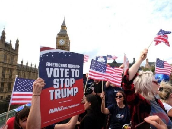 Avaaz contre Trump électeurs étrangers George Soros