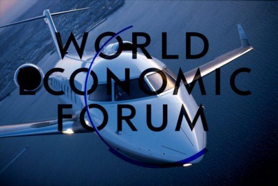 1700 nombre jets privés Suisse forrum Davos chiffre
