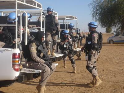 Persiapan Patroli menuju IDP Camp