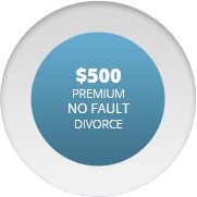 500 dollar no fault divorce