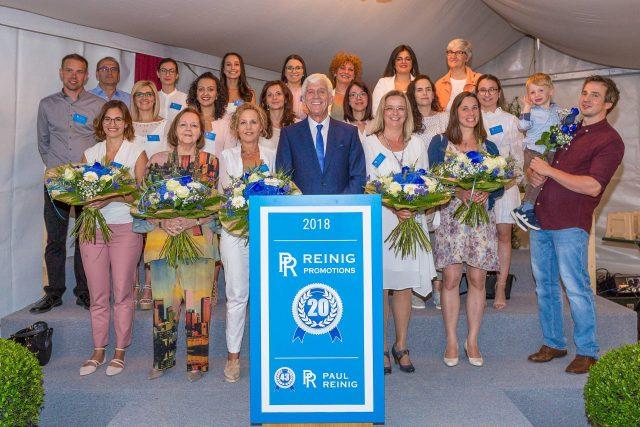 20 ans Reinig Promotions