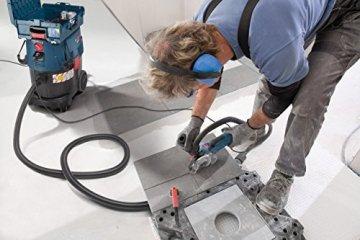 Bosch Professional GAS 35 L SFC+ Nass-& Trockensauger, 35 l Behältervolumen, Staubklasse L -