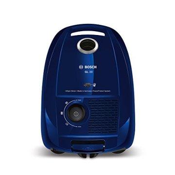 Bosch BGL3B110 Bodenstaubsauger GL-30, EEK B mit Beutel,  gründliche Reinigungsleistung, PowerProtect System, nordkapblau / metallic -