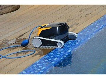 Dolphin E20 Poolroboter mit PVC Bürste -
