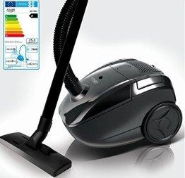 Staubsauger Bodenstaubsauger mit Staubbeutel Staub Sauger Mini Sauger 700 Watt Leistung 1,6 Liter Staubbeutel 3D Bodendüse -