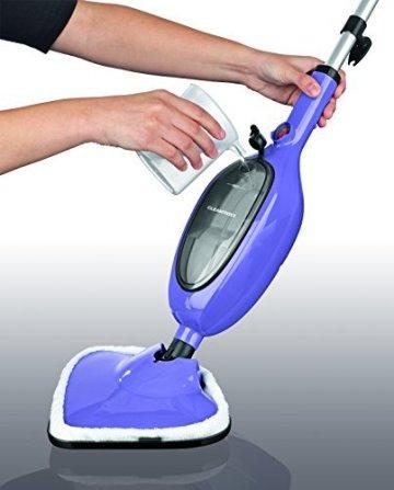 TV Unser Original 01823 Clean maxx Dampfbesen, 1300 W, lila -