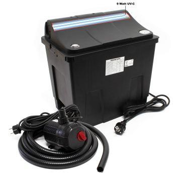 Teichfilter mit UV-C Lampe