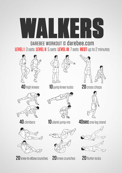 entrenamiento the walking dead