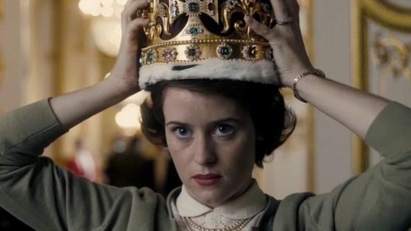 The crown, coronada como la serie más cara del año