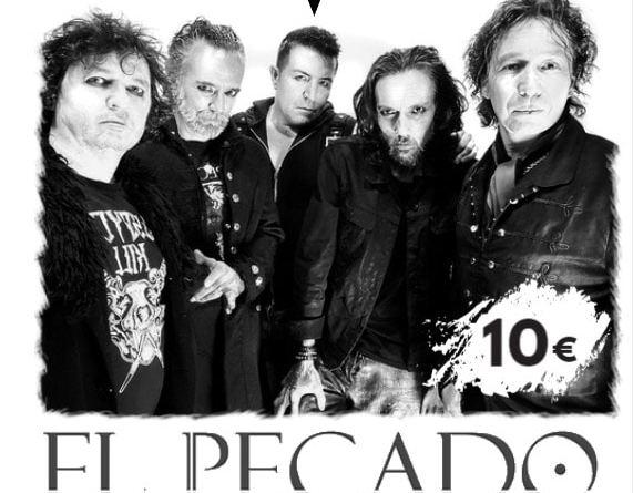 Próximo concierto de EL PECADO en la Sala Rockville (A TOPE PRODUCCIONES)