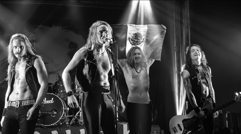 ENFORCER presenta su segundo disco en vivo Live By Fire II (NUCLEAR BLAST RECORDS)