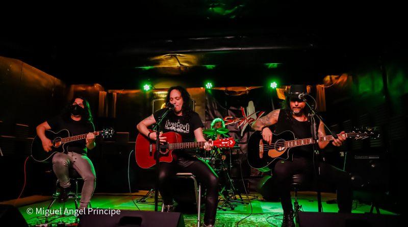 Crónica y fotos del concierto en acústico de SEXPLOSION (04-04-2021 Sala Rockville, Madrid)