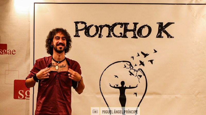 PONCHO K PRESENTACION DE CALÍOPE (SGAE Madrid)