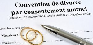 divorce par consentement mutuel ou divorce amiable