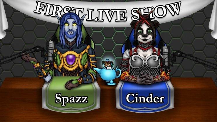 Our first live show on twitch!