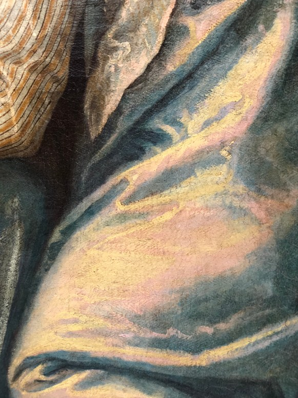 Veronese, detail from Madonna and Child with Saint Elizabeth, the infant Saint John and Saint Catherine, 1565-70 (Putnam Foundation)