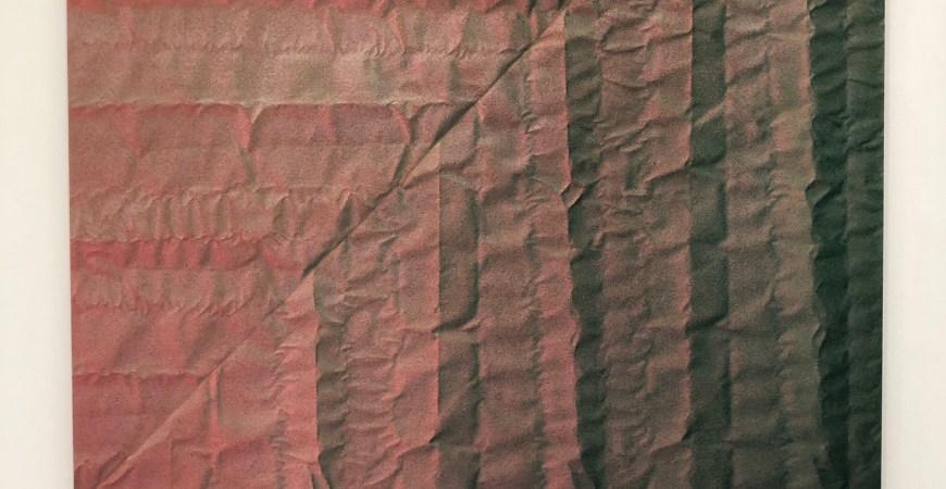 Tauba Auerbach and Rudolf Stingel – Woven Stories