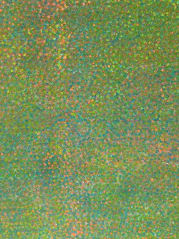 Detail from Howardena Pindell, Untitled, 1970