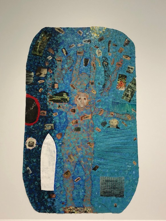 Howardena Pindell, Autobiography: Water (Ancestors / Middle Passage / Family Ghosts), 1988