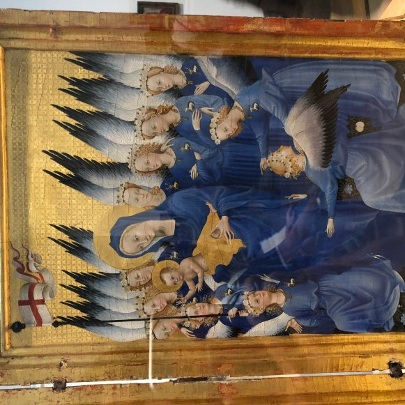 The Wilton Diptych; c. 1395–99, National Gallery