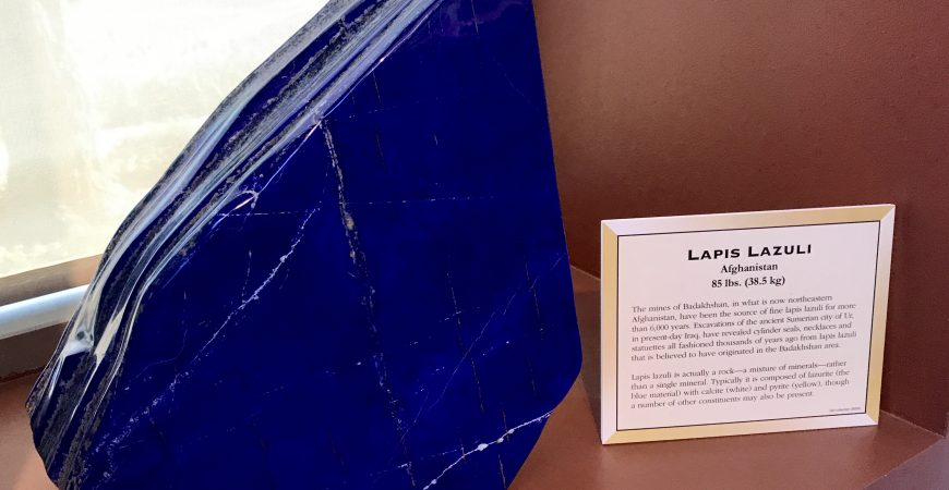 Lapis Lazuli and Art Materiality