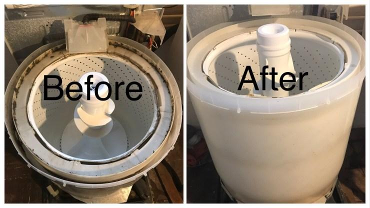 Clean your washing machine