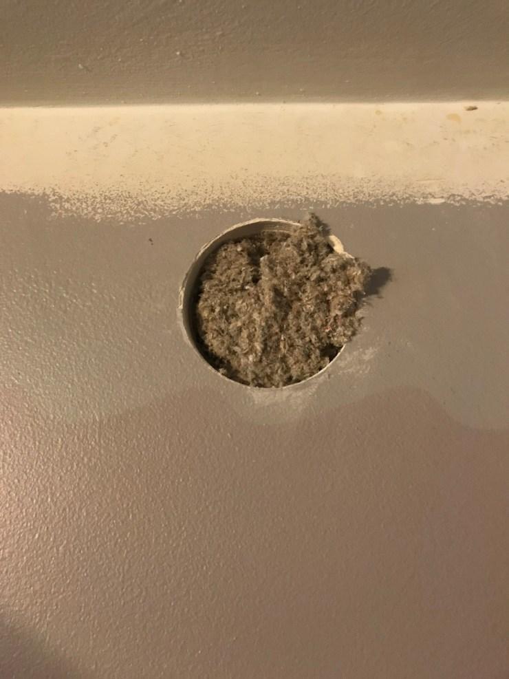 Insulated Wall Cavity