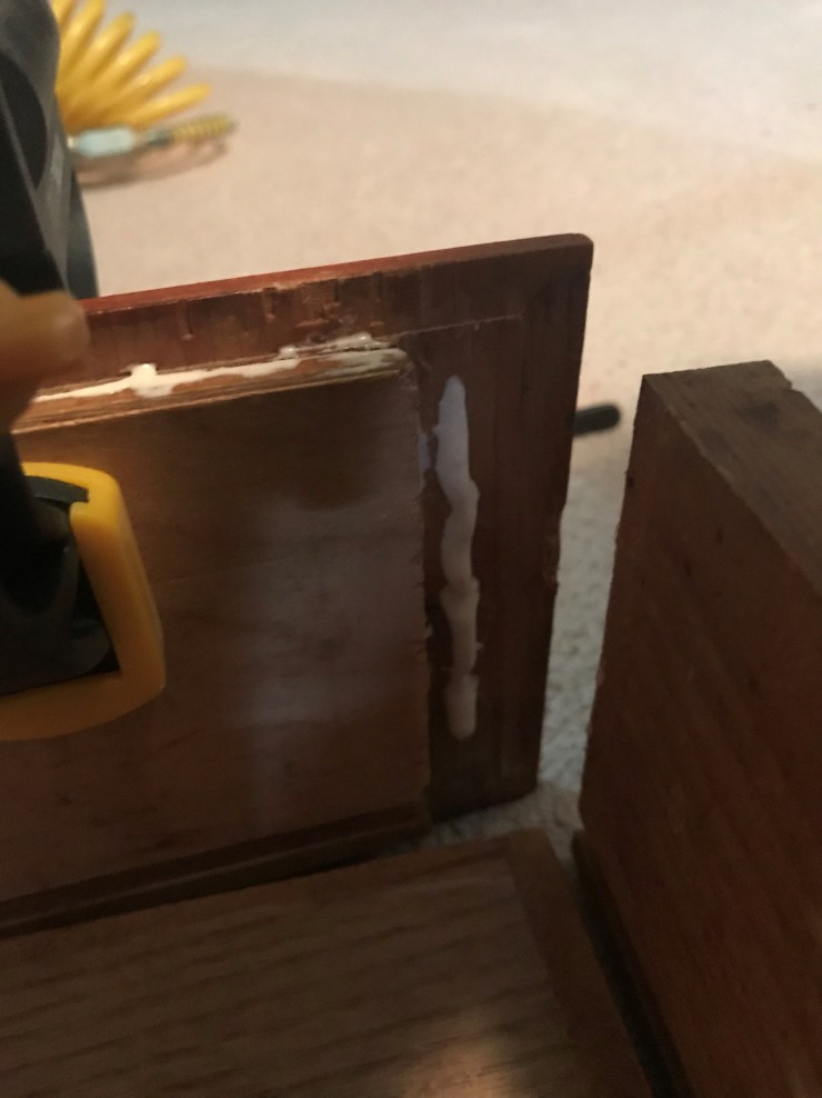 Clamp Cabinet Side Rails