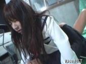 首輪をされ敏感おまんこを突かれ号泣するセーラー服娘のれイプ 動画 38.5度無料