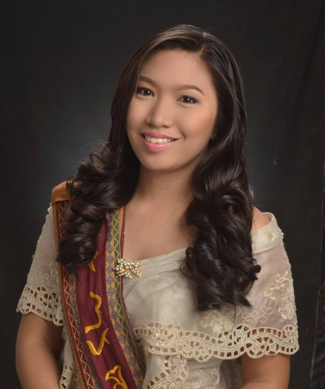 My graduation photo wearing that infamous UP sablay!
