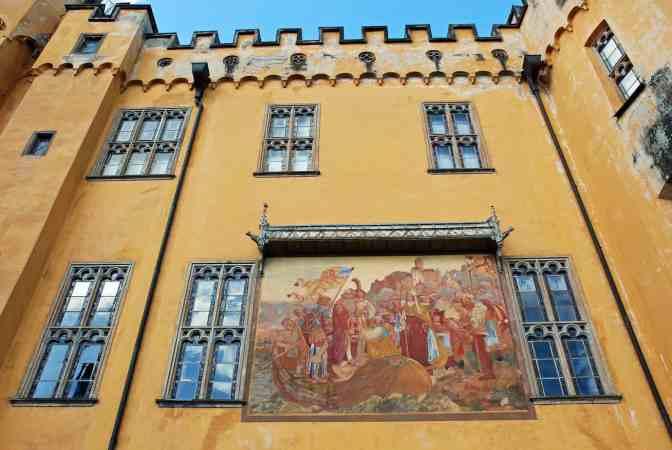Schloss Stolzenfels muurschildering