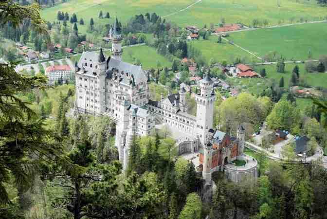Schloss Neuschwanstein, Duitsland