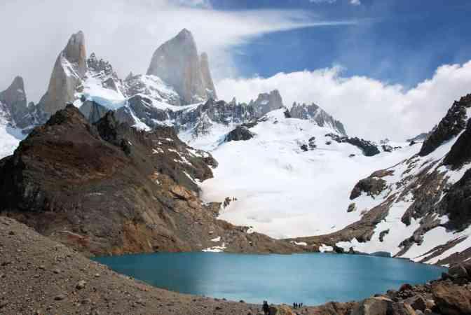 Los Glaciares Nationaal Park, El Chaltén, Glaciar lake