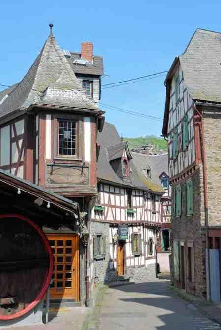 Braubach am Rhein, romantisch stadje