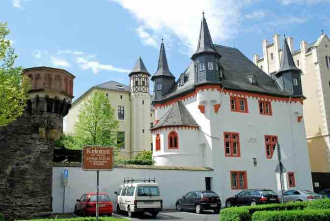 Boppard am Rhein, Kurfürstliche Burg Boppard