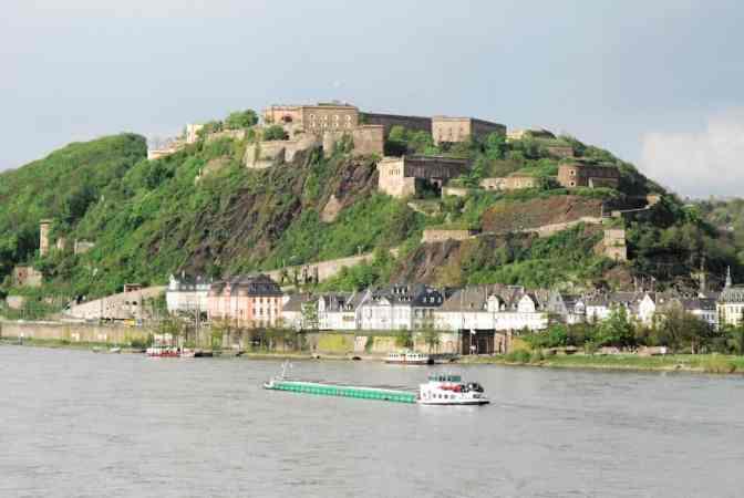 Koblenz -Festung Ehrenbreitstein
