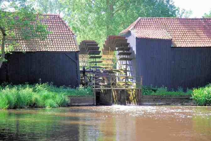 Collse watermolen geschilderd door Vincent Van Gogh