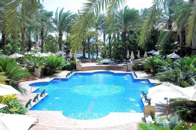 Zwembad piscina Las Fuentes Hotel Costa Meloneras