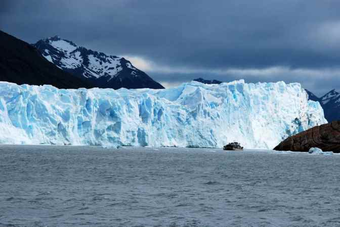 Perito Moreno gletsjer, Nationaal park Los Glaciares, Argentinië
