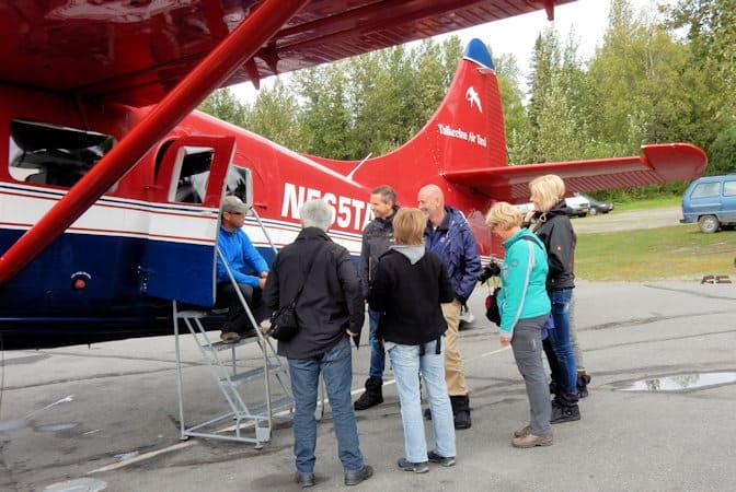 Talkeetna airtaxi- VliegtochT