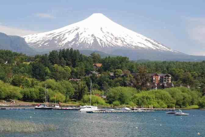 Pucón - Vulkaan Villarrica - Chili