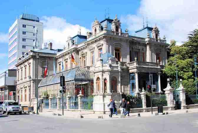 Punta Arenas, Palacio Sara Braun, Chili
