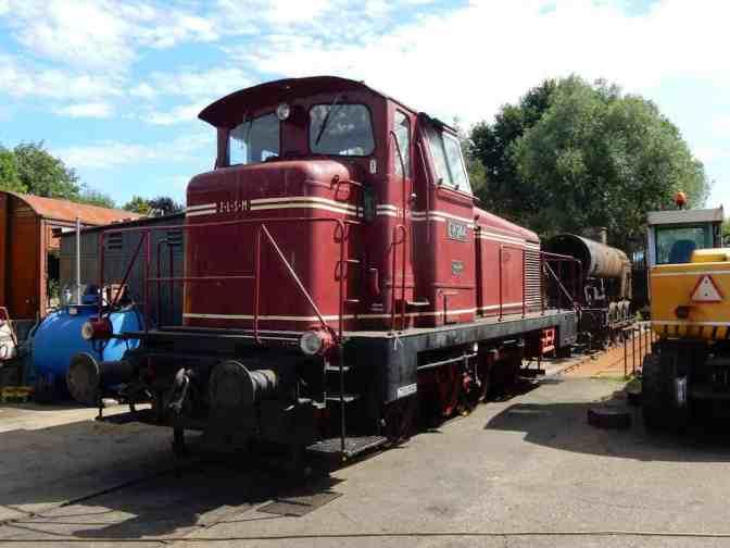 Loc 244-02 – Diesel-hydraulisch - Zuid-Limburgse Stoomtrein Maatschappij