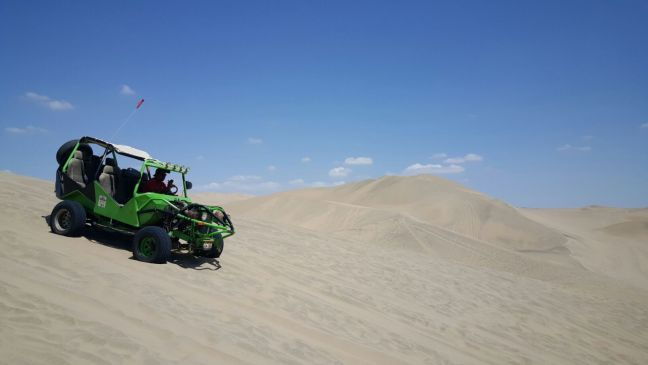 Sanddune Buggy in Huacachina, Peru