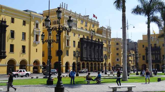 Plaza Mayor, Lima, Peru.
