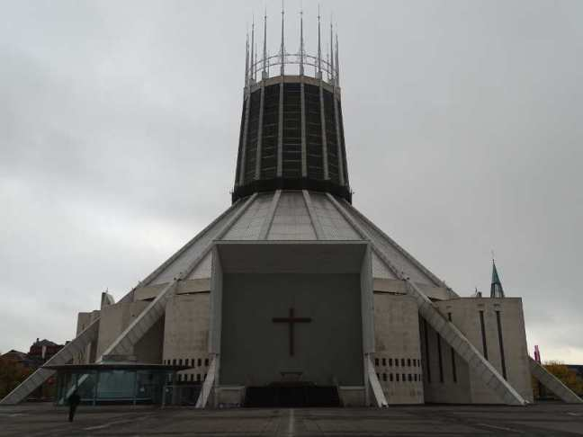 Liverpool 2016: Liverpool Metropolitan Cathedral.