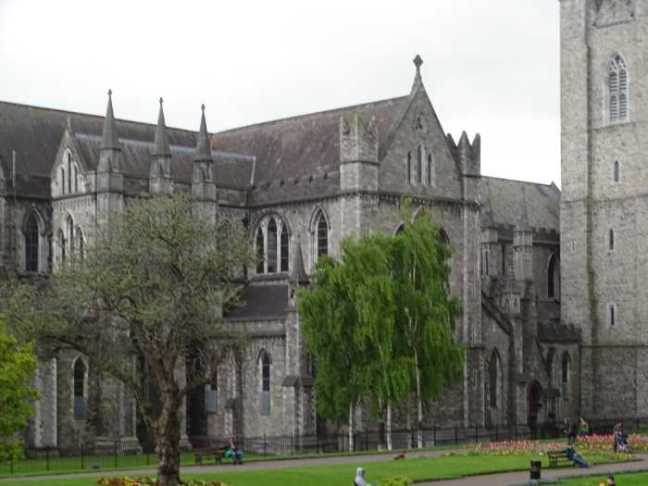 Dublin - St. Patrick's Cathedral.